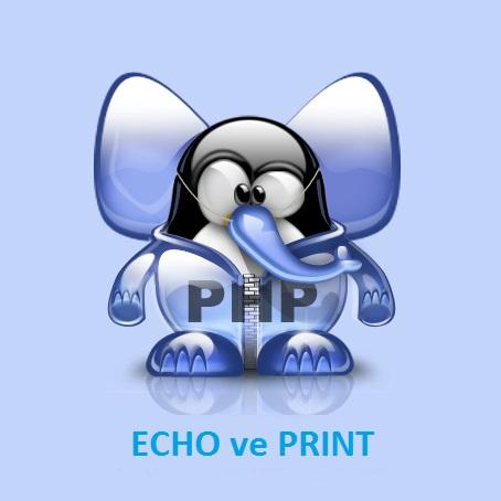 PHP Dersleri (Echo ve Print)