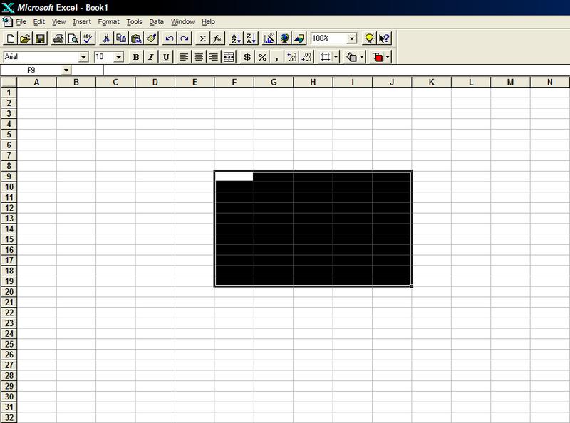 Excel Tarihçe